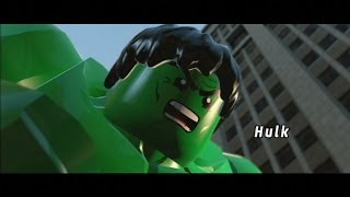 LEGO Marvel Super Heroes - All Cutscenes