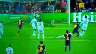 barcelona in camp nou leg 2 Champions League 2013. 4-0 tanpa balas. aggregate: Barcelona 4-2 AC milan