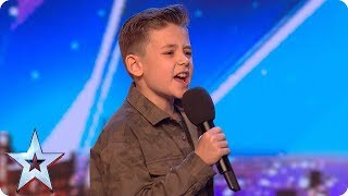 Calum Courtney takes on ICONIC Michael Jackson song   Auditions Week 1   Britain's Got Talent 2018