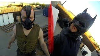 BATMAN vs BANE GoPro Fight