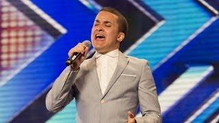 getlinkyoutube.com-Jahmene Douglas' audition - Etta James' At Last- The X Factor UK 2012