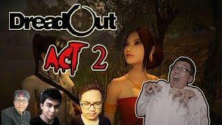 getlinkyoutube.com-Main DreadOut NGAKAK ABIS! - ACT 2 Bareng Kru DOTA 2! Sawadikap KK!! HAHAH!!