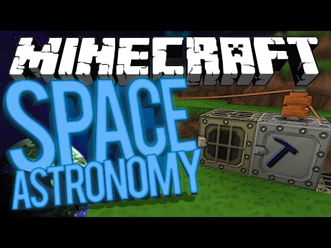 Minecraft Space Astronomy - Industrial Craft 2 Nostalgia! #5 [Modded HQM Survival]