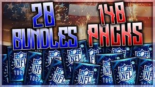getlinkyoutube.com-20 BUNDLES, 140 PACKS!! Madden Mobile Biggest Pack Opening Ever