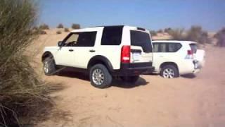 getlinkyoutube.com-Land Rover Discovery 3 LR3 vs New Land Cruiser Prado 4.0L V6