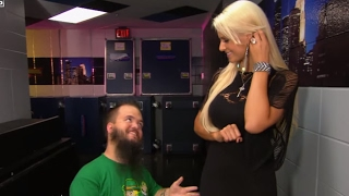 getlinkyoutube.com-WWE NXT: Maryse denies being Hornswoggle's secret admirer