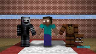getlinkyoutube.com-FNAF Monster School: Sports Challenge - Minecraft Animations (Five Nights At Freddy's)