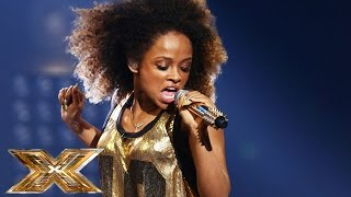 getlinkyoutube.com-Fleur East sings Bruno Mars & Mark Ronson's Uptown Funk | The Final Results | The X Factor UK 2014