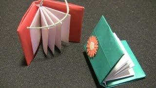 getlinkyoutube.com-【おりがみ】とってもわかりやすい本の折り方 Comment plier l'origami facilement
