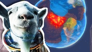 getlinkyoutube.com-I BLEW UP THE EARTH?!?!   Goat Simulator