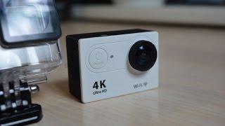 getlinkyoutube.com-Eken H9 4K Обзор экшн камеры за 58$