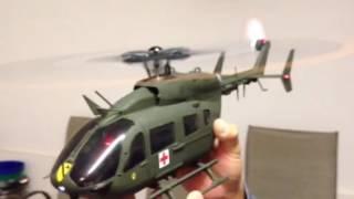 UH-72A Lakota. 1/24 scale Nine Eagles solo pro 229 Von Robbe