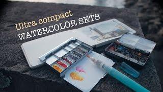 getlinkyoutube.com-Ultra Compact Watercolor Sets