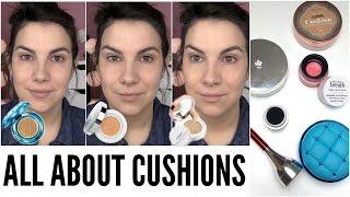 getlinkyoutube.com-CUSHION MAKEUP: Foundations, Blush, Eyeliner