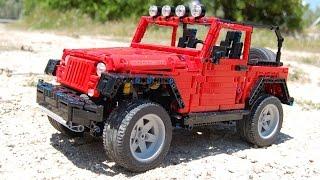 LEGO Jeep Wrangler Rubicon (JK) by Sheepo