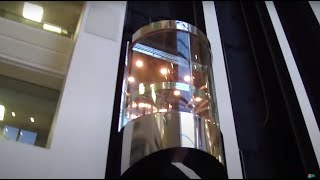getlinkyoutube.com-Beautiful Otis Scenic Traction elevator @ 2 Eaton Harbour Centre Hampton VA