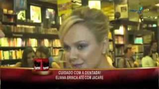 Blog Eliana & Diego | Eliana responde convite de estrela pornô - TV Fama