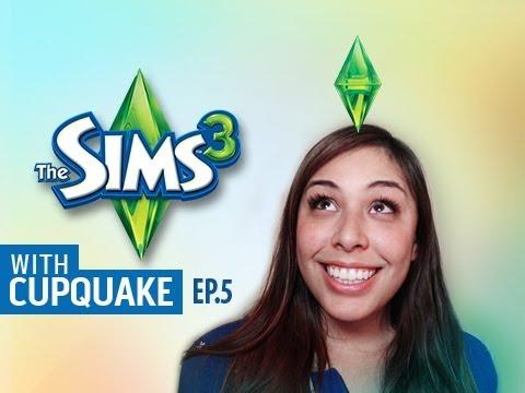 """""""IM AN ARTIST"""" Sims 3 Ep.5 W/ Cupquake"""