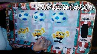 getlinkyoutube.com-Como hacer Gelatinas infantiles / gelatina basica
