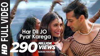"getlinkyoutube.com-""Har Dil Jo Pyar Karega Title Song"" Ft Salman Khan, Rani Mukherjee"