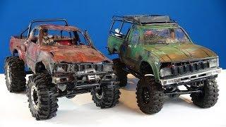 "getlinkyoutube.com-RC ADVENTURES - ""Trail Finder 2"" Toyota Hilux 4x4 RC Trucks (1/10th Scale Off-Road Trail Trucks)"