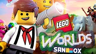 *갓게임 등장!?* 해적놀이터에 불시착한 우주비행사 도티 [레고월드: 모험의 시작] Lego Worlds - Episode 1 - [도티]
