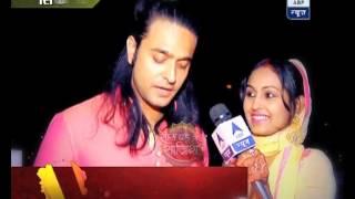 getlinkyoutube.com-Karwa Chauth Celebrations: Ashish Sharma fasts along with wife