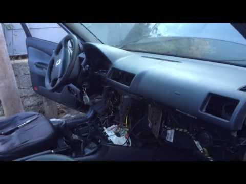 Снятие печки Skoda Octavia Tour( замена радиатора печки, кондиционера)