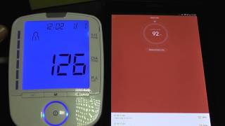 getlinkyoutube.com-Xiaomi Mi Band 1S vs. Blood Pressure Monitor - Pulse Accuracy Test