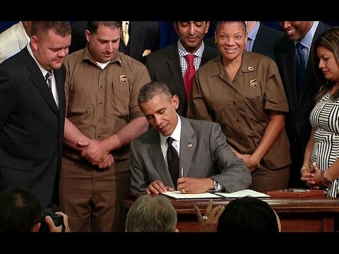 The President Signs the Fair Pay and Safe Workplace Executive Order