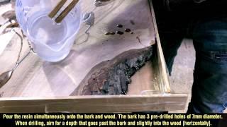 Wood DIY: Epoxy Resin Table Corner - Part I