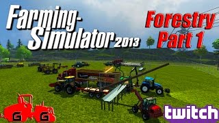 getlinkyoutube.com-Farming Simulator 2013 - Forestry Part 1!