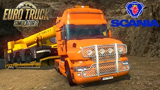 Euro Truck Simulator 2 mod truck SCANIA T