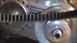 getlinkyoutube.com-Clutch to Torque Converter Conversion on a Doodle bug Mini-Bike 6.5HP