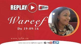 WAREEF avec Eva Tra du 19 Septembre 2016 - Thème : Coowu Keur