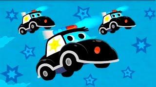 getlinkyoutube.com-Мультики про машинки. Полицейские машинки и их важная работа. Видео для детей.