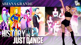 getlinkyoutube.com-Just Dance | Ariana Grande | JD2014 - JD2017 | History in Just Dance
