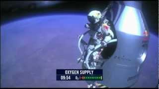 UFO & Felix Baumgartner 14.10.2012