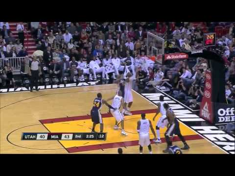 LeBron James 30 points vs Utah Jazz [Full Highlights] (12/22/2012)