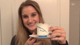 getlinkyoutube.com-Belle's Chipped Tea Cup- DIY Once Upon A Time Tutorial- Belle Cosplay