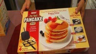 getlinkyoutube.com-Perfect Pancake Pan - As Seen On TV