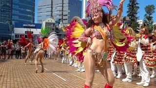 getlinkyoutube.com-【 ハイスクール サンバ ☆ 女子高生ダンス プロも認めるダンスの実力!自由の森学園 】 フェスタ ド ブラジル 2014