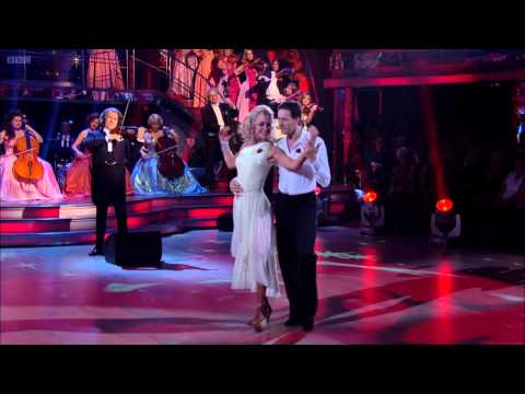 Andre Rieu -The Rose - on Strictly Come Dancing with Brendan Cole and Natalie Lowe - 11th Nov 2012