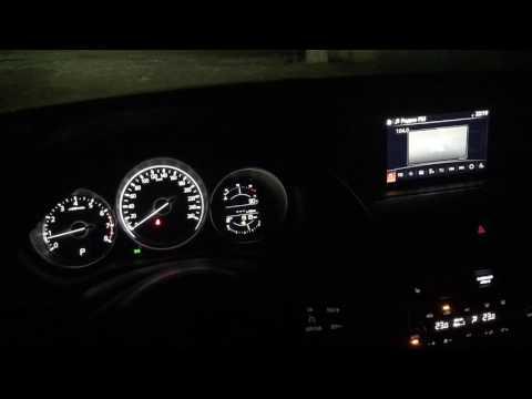 Подсветка приборной панели Mazda 6 2017г.