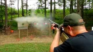 getlinkyoutube.com-H&R 20 Gauge Rifled Slug Shooting