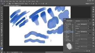 getlinkyoutube.com-Photoshop Top Tip: Create Your Own Watercolor Brush