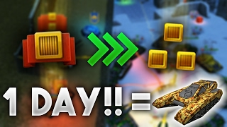 getlinkyoutube.com-+30K EXP + 2 RANK UP IN 1 DAY!! By TheNewLegend | Tanki Online