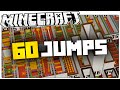 Minecraft | 60 JUMPS | 60 Small Parkour Levels With Magic Block Effects