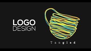 getlinkyoutube.com-Professional Logo Design - Adobe Illustrator cc (Tangled)