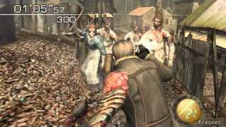 getlinkyoutube.com-resident evil 4 PC - LEON KRAUSER